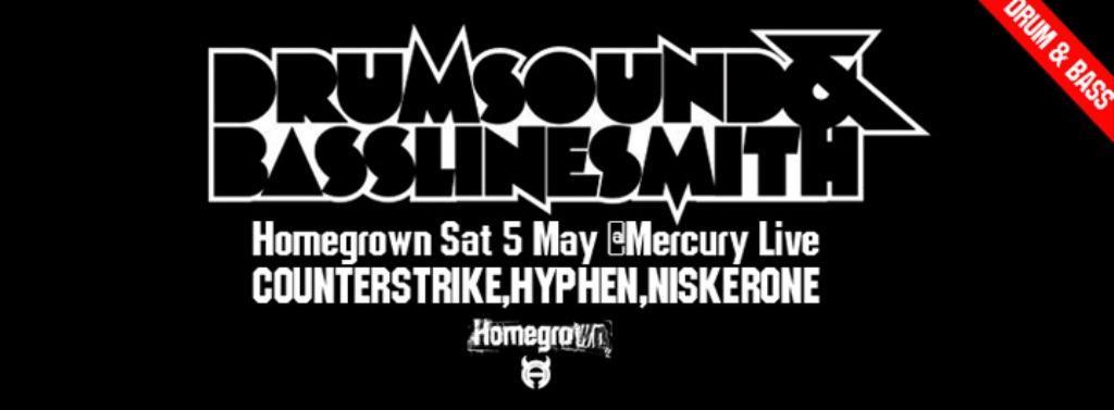 HG Cover Drumsound Flier