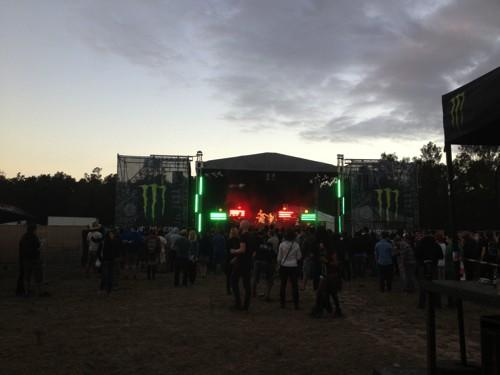 Ramfest 2013 Metal Stage
