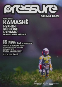 Pressure Drum n Bass May 2013
