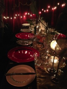 Madame Zingara Table Settings
