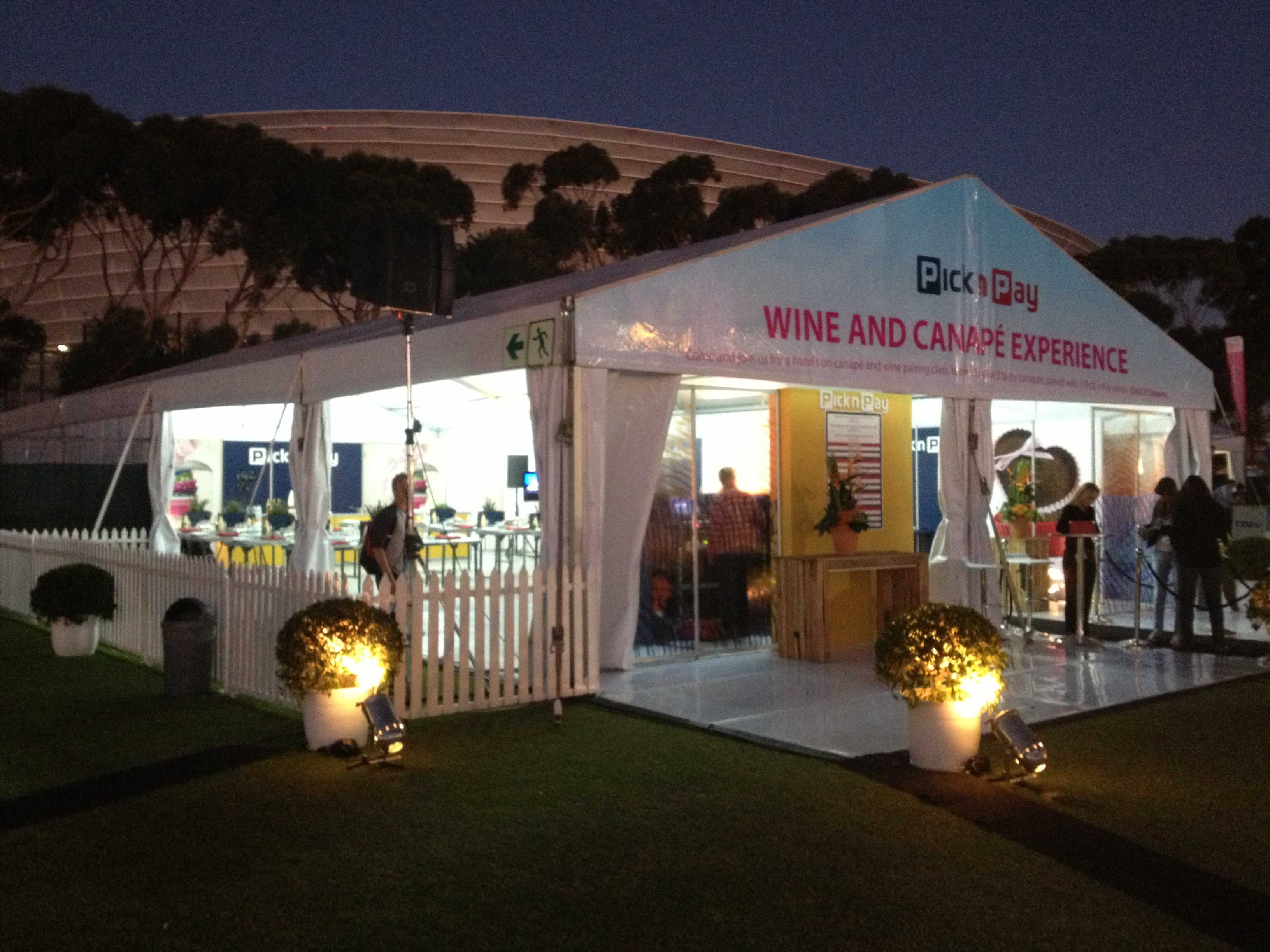 Taste of Cape Town Wine and Canape Experience