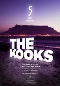 The Kooks in Cape Town