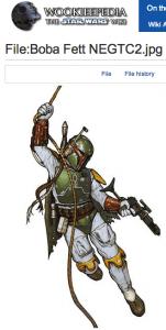 Boba Fett Star Wars Character