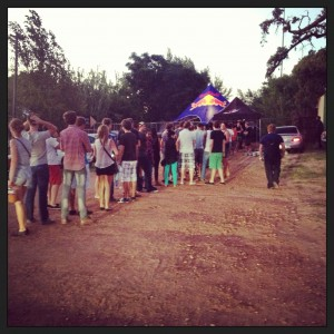 Pendulum Stellenbosch Queue 2013
