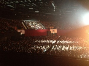 Kings of Chaos Crowd, Grand Arena, Cape Town