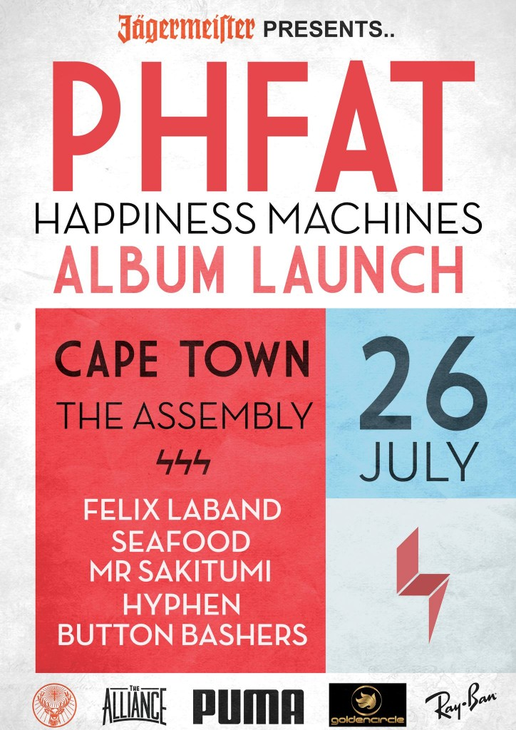 PHFat Happiness Machines Event Poster