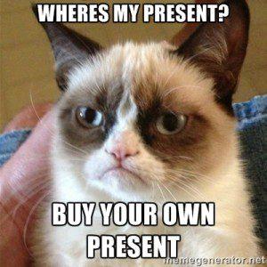 Wheres my present