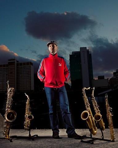 Dan Shout Saxophonist Cape Town