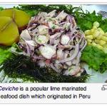 Ceviche Peruvian Food Keenwa
