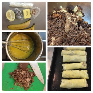 Banana Spring Roll Finale