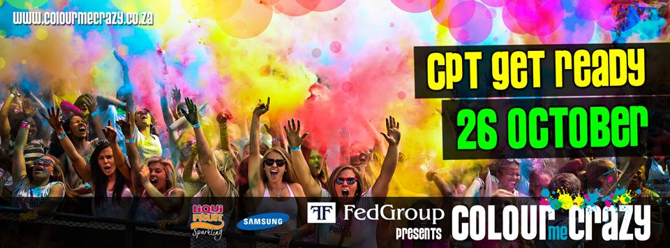 Colour Me Crazy Fun Run Header