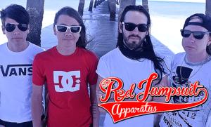 Red Jump Suit Aparatus