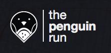 the penguin run logo