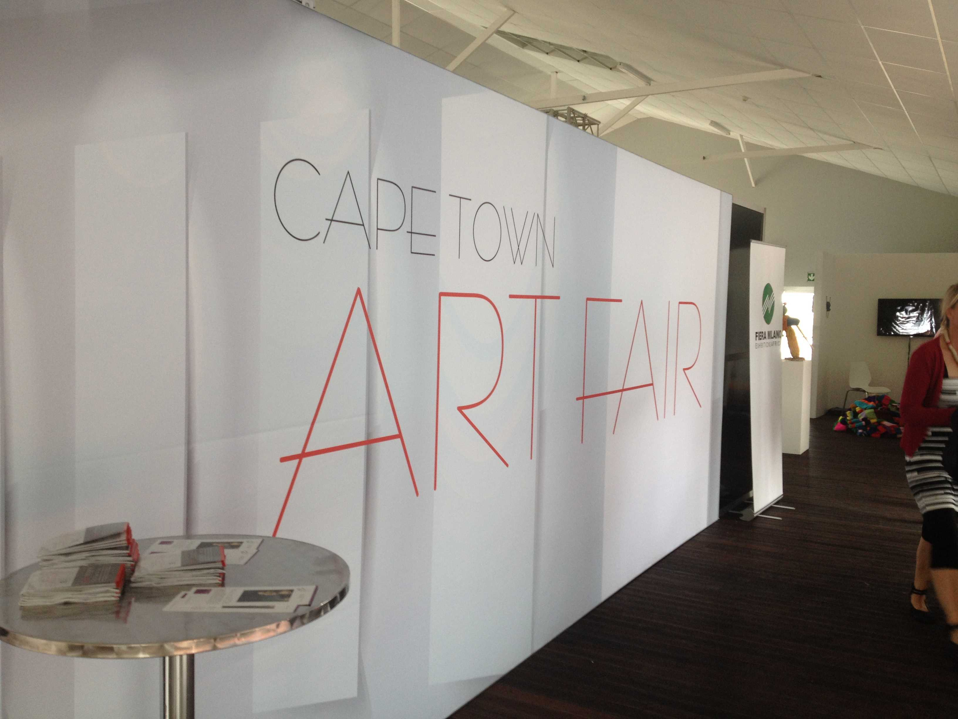 Cape Town Art Fair 2013 Entrance