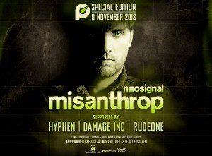 Misanthrop Pressure Poster