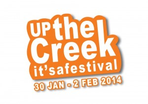 Up the Creek 2014 Logo