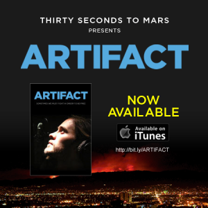 30 Seconds to Mars Artifact Out Now
