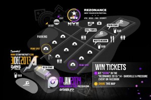Rezonance Delta Stage Map