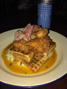 Lefty's Chicken Maple Waffles