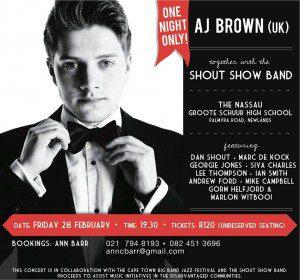 AJ Brown Cape Town Gig