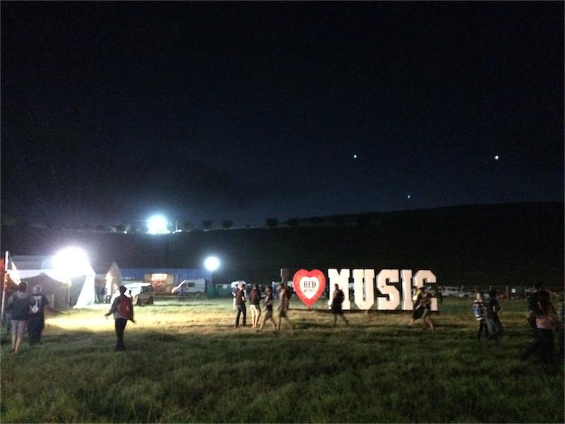 Ramfest 2014 I Heart Music Sign
