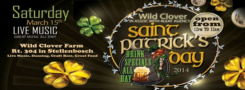 St Paddy's Day Festival Header