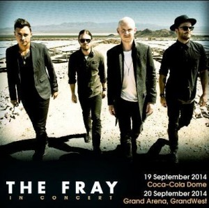 The Fray SA Tour