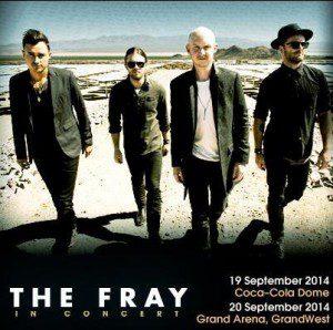 The Fray SA Tour