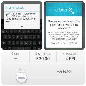 Accessing Uber X