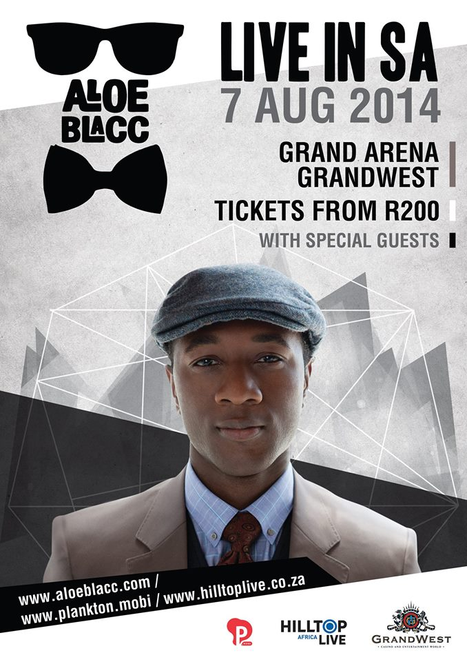 Aloe Blacc in Cape Town