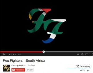 Foo Fighters South Africa