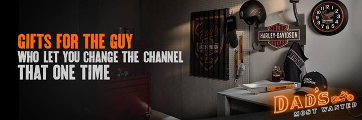 Harley Davidson Facebook Ad