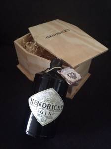 Hendricks Gin Coffin pest