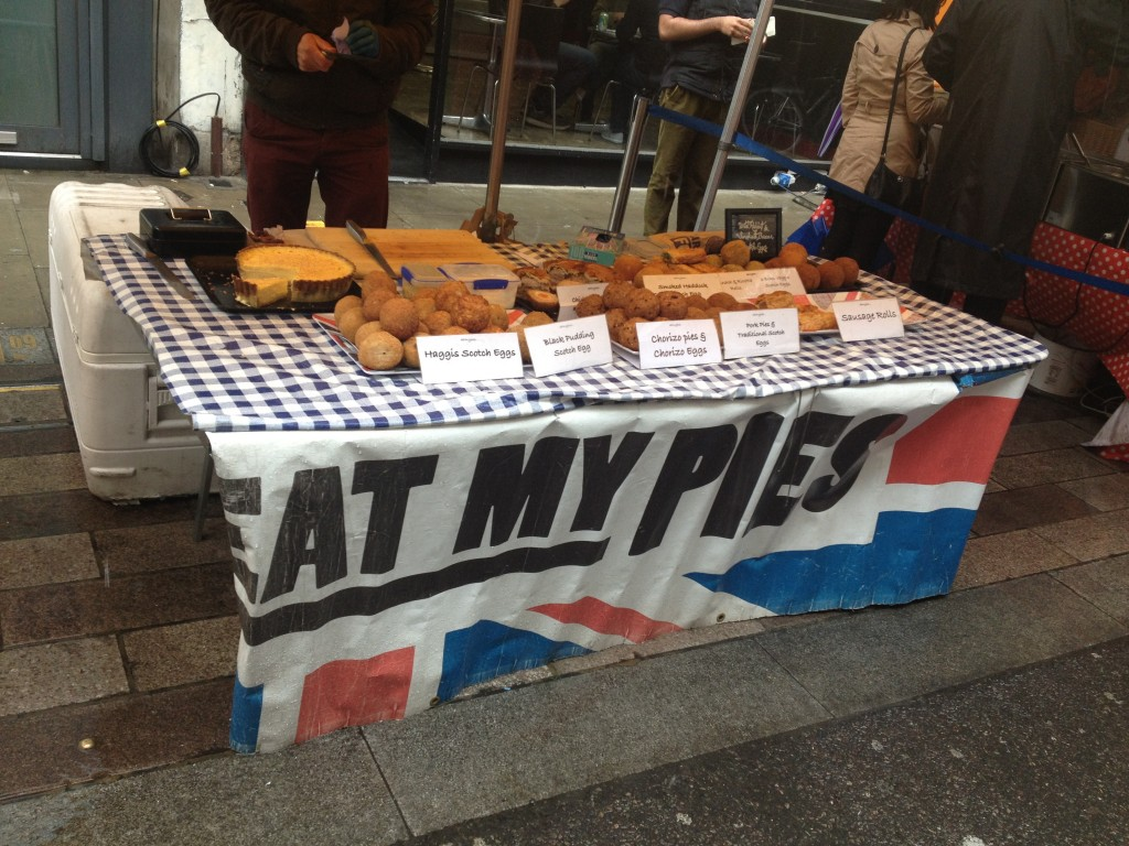 Eat My Pies at White Cross Street Market