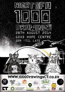 1000 Drawings 2014
