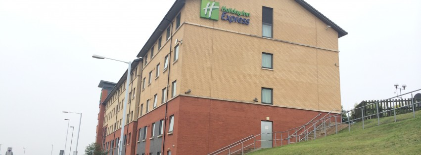 European Diary Day 6: Luton Holiday Inn Express