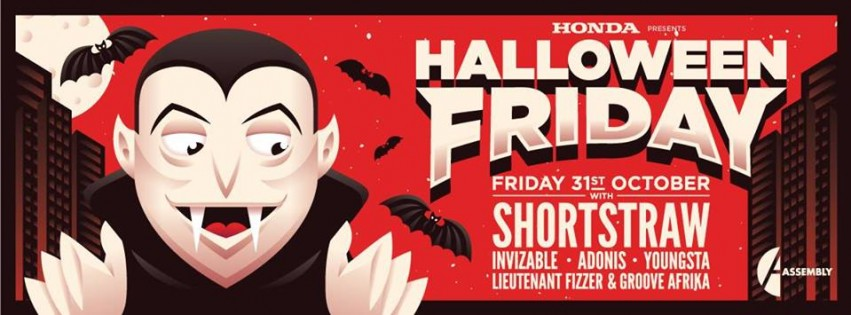 [WIN] Shortstraw at Assembly's Halloween this Friday!