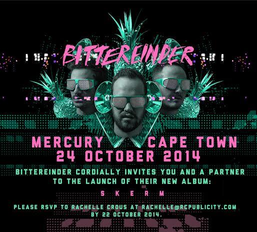 Bittereinde EP Launch Skerm Public