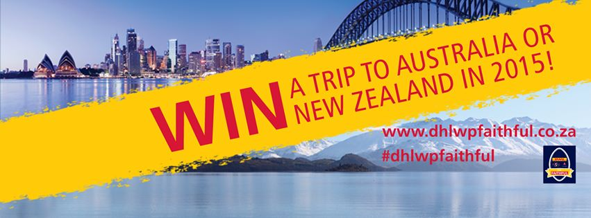 WIN a Trip for 2 to Aust/New Zealand with DHL for Super Rugby 2015!