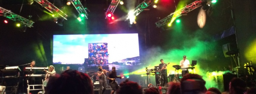 [VIDEO] Rudimental LIVE at Rocking the Daisies 2014