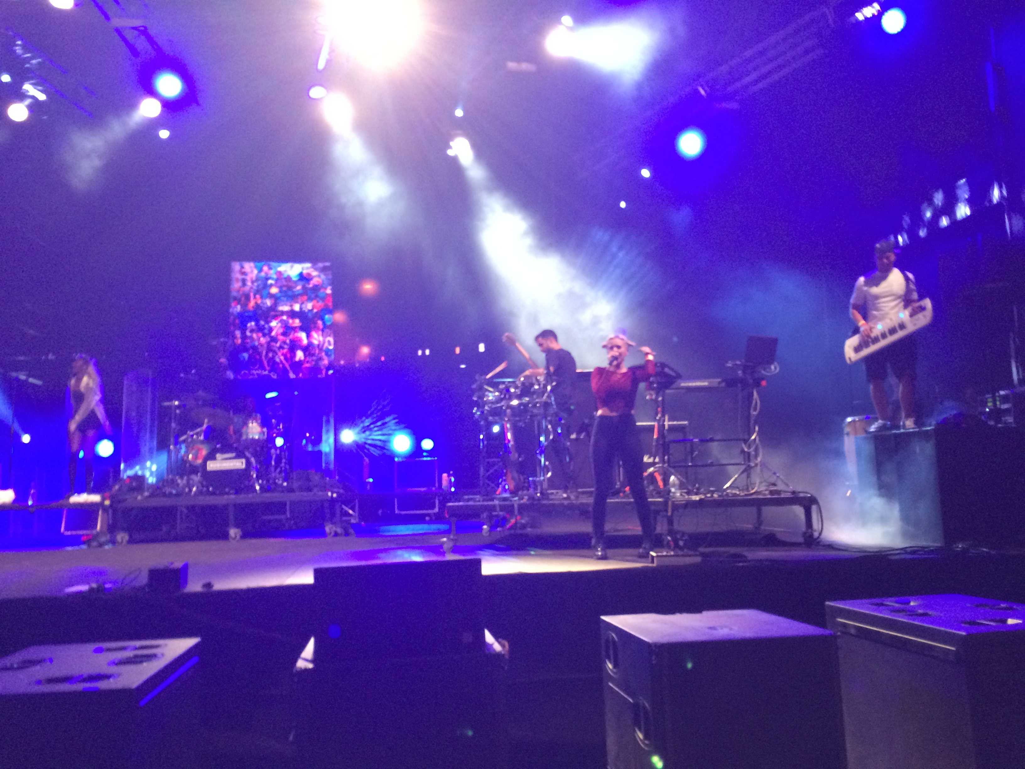 Rudimental at Rocking the Daisies