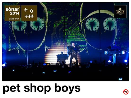 Sonar Cape Town Pet Shop Boys