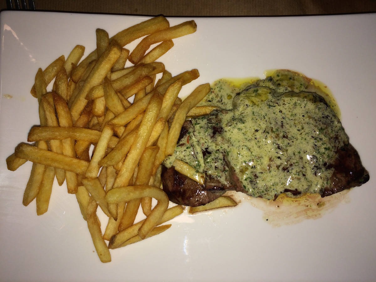 HQ Steak and chips