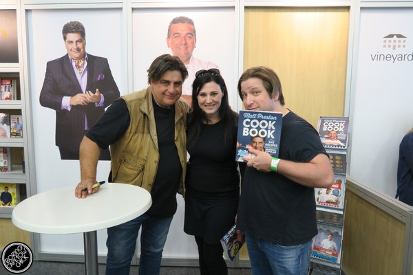 Good Food and Wine Show 2015 Cape Town Matt Preston Book signing
