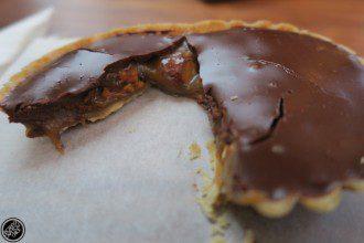 Honest Chocolate Caramel Tart