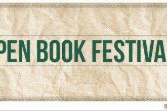 Open Book Festival Flier 2015