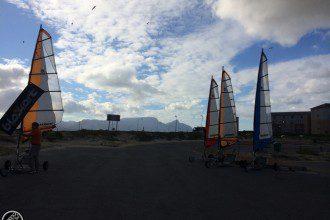 Blokart in Muizenberg