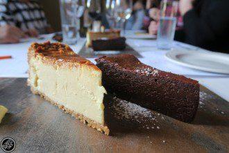 Societi Bistro cheesecake.