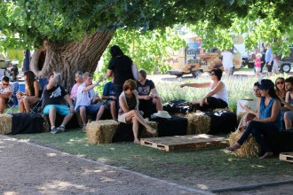 La Paris Festival in the Valley 2014 visitors