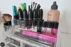 Save a Fortune OFFLINE on Clear Make Up Organisers at Dischem